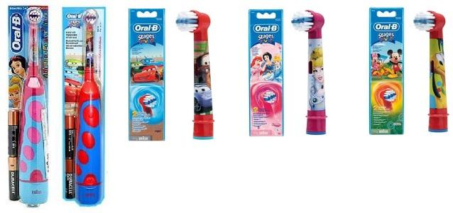 oral-b szczoteczki dla dzieci