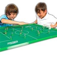 Prawdziwy mecz piłki nożnej.