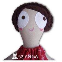 ręcznie szyte zabawki lalka