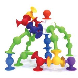 Squigz by Fat Brain Toy Co. silikonowe klocki dla dzieci