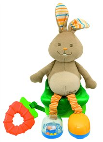 pluzowy królik Chicco zabawka dla dzieci