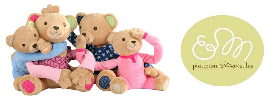 Zabawki niemowlęce Pioupiou et Merveilles