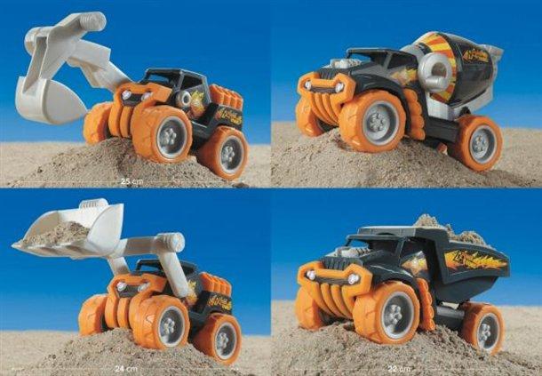 Klein zabawki do piasku dla dzieci