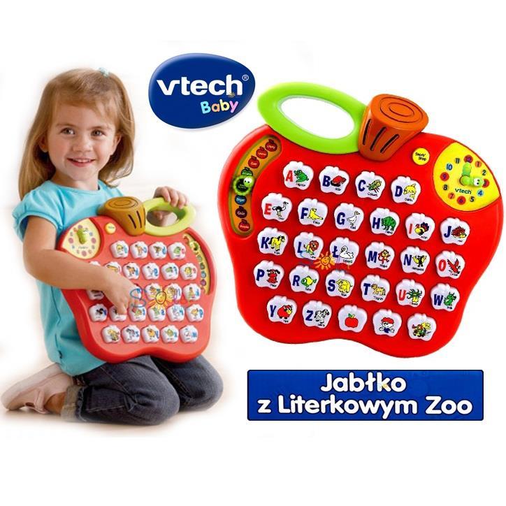Jabłko z Literkowym Zoo VTech