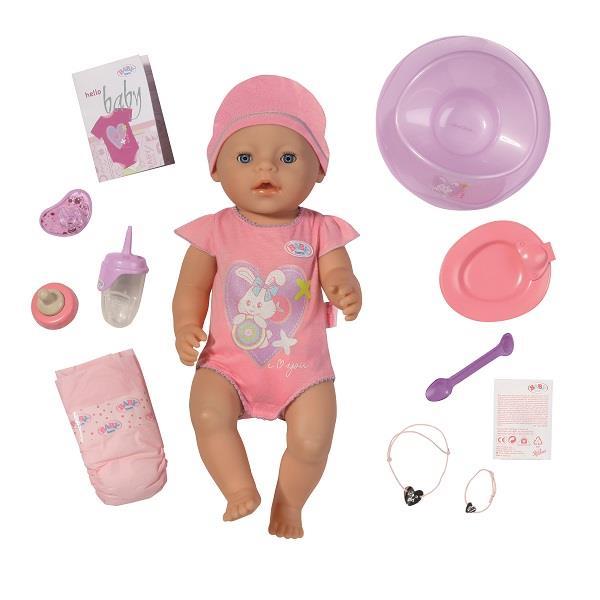 Lalka Interaktywna Baby Born z akcesoriami