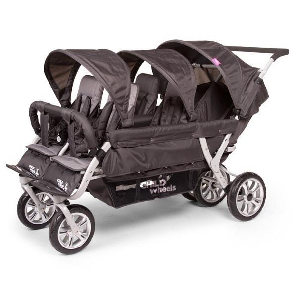 Childhome Sixseater - wózek 6-osobowy