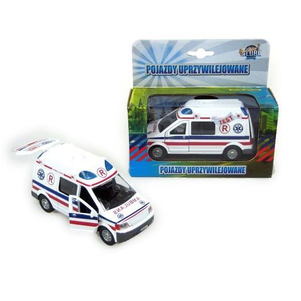 Modele pojazdów uprzywilejowanych: straż, policja pogotowie