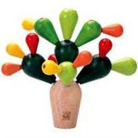 balansujący kaktus zabawka dla dzieci