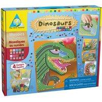 Dinozaury - mozaika do wyklejania