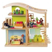 Ekologiczny domek dla lalek