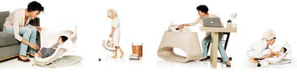 stokke łóżeczko kołyska dla dziecka