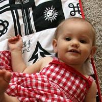 Pled White&Black dla niemowlaka