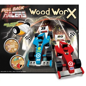 Wood-cars-Worx-Pull-Back-Racers