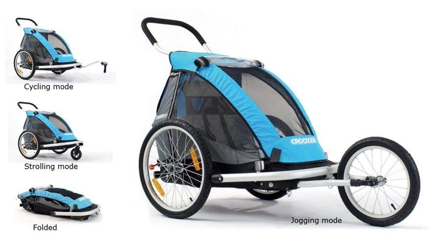 Croozer Kid - przyczepka rowerowa
