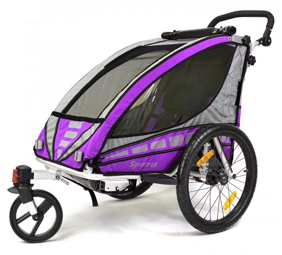 Qeridoo Sportrex - przyczepka rowerowa