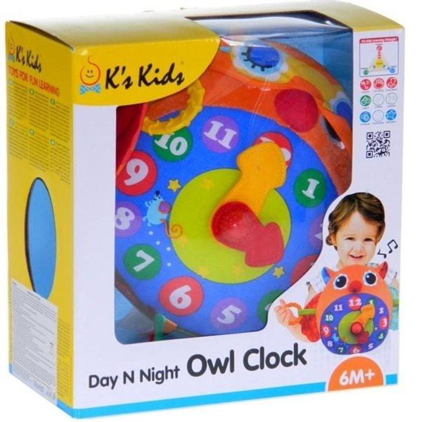 Zegar Sowa - Noc i dzień K's Kids