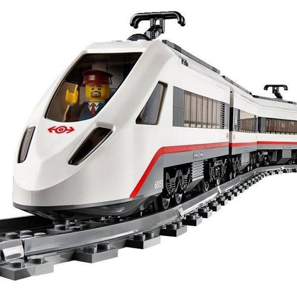 LEGO City  Superszybki pociąg pasażerski