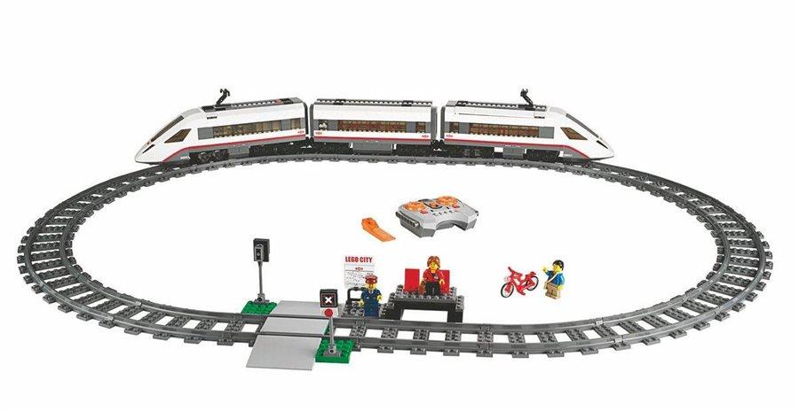 Lego City Superszybki Pociąg Pasażerski Zabawkowiczpl