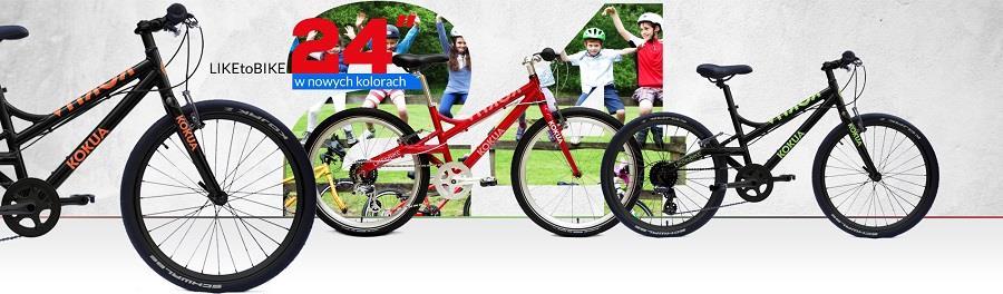 LIKEtoBIKE rowery dla starszych dzieci