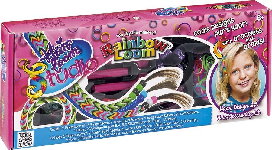 Hair Loom Studio, Rainbow Loom, ozdoby na włosy