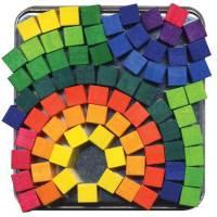 Drewniana mozaika magnetyczna