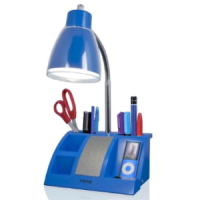 iHome Desk Organizer Lamp and Speaker