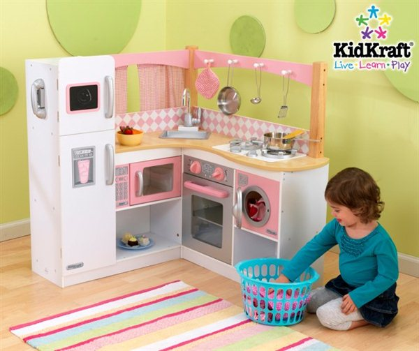 kuchnie dla dzieci kidkraft. Black Bedroom Furniture Sets. Home Design Ideas