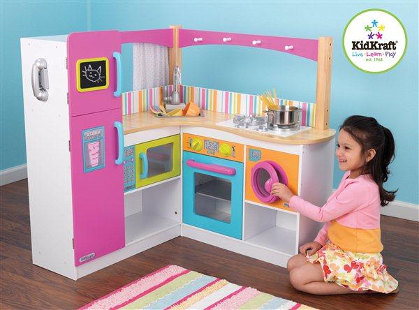 Kuchnie dla dzieci KidKraft  Zabawkowicz pl -> Drewniane Kuchnie Dla Dzieci Uzywane