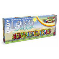 Babyloko edukacyjna gra planszowa dla dzieci