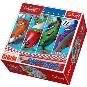 Puzzle i gra z bohaterami filmu Samoloty
