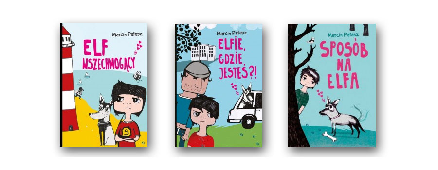 Elf Wszechmogący pełna przygód książka dla dzieci