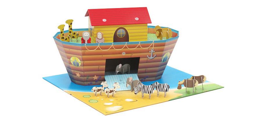 Krooom ekologiczne zabawki z wodoodpornej tektury