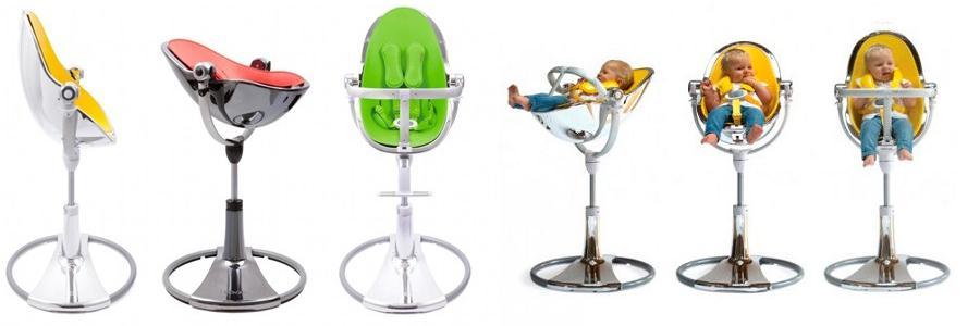 Fantastyczny Nowoczesne krzesełko dla dzieci Bloom Fresco Chrome - zabawkowicz.pl MI66