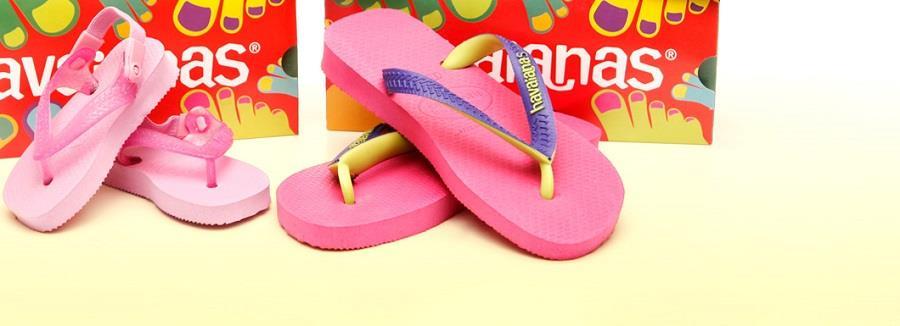Buty dla dzieci kultowej marki Havaianas