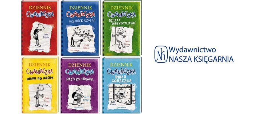 Dziennik Cwaniaczka seria książek dla dzieci