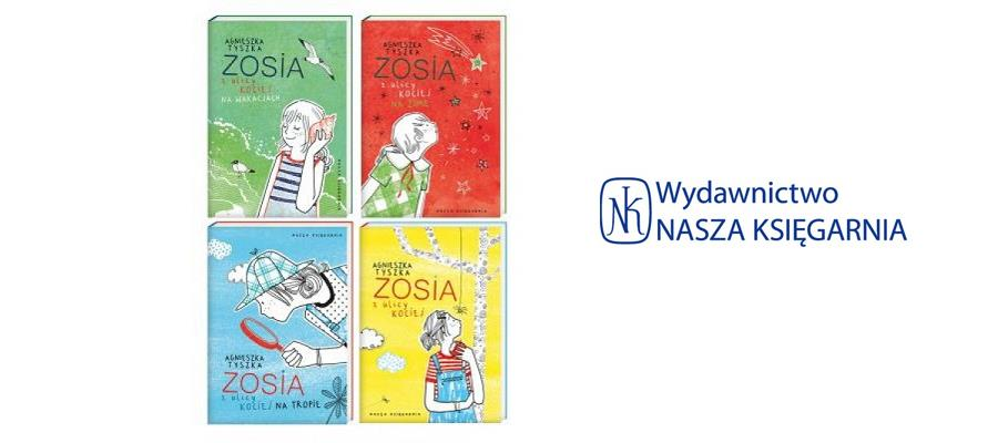 Zosia z ulicy Kociej seria książek dla dzieci