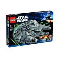 Zestaw klocków Lego Star Wars Millenium 7965 dla małych konstruktorów
