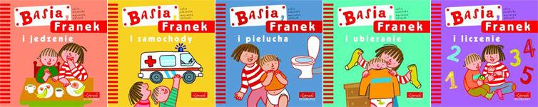 Basia, Frank seria książek wydawnictwa Egmond
