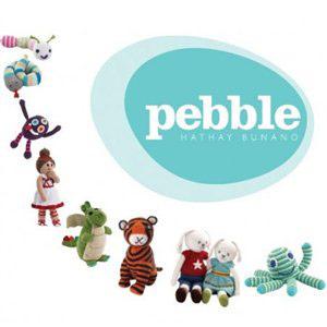 Szydełkowe zabawki Pebble