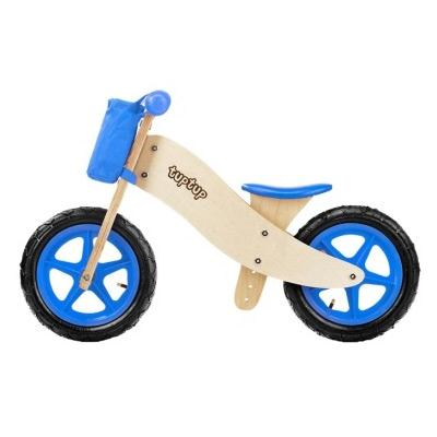 TupTup AQUA, MINI, LIMO drewniany rowerk biegowy
