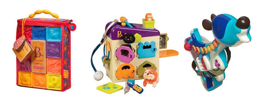 B. toys - zabawki inne niż wszystkie