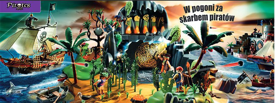 Pirackie przygody z Playmobil