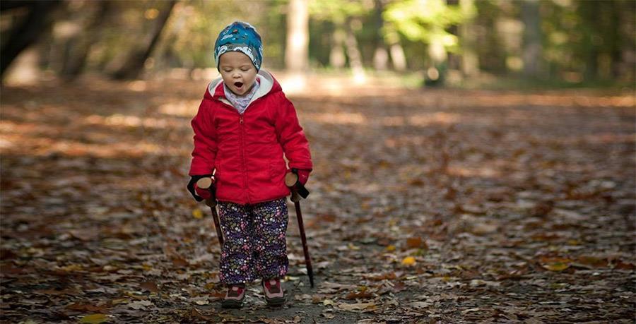 Jesienny spacer z dzieckiem - akcesoria