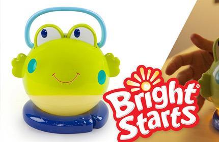 Bright Starts Projektor / Lampka Żabka