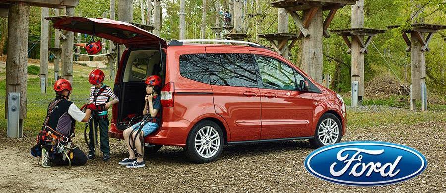 Ford z rodziny Tourneo - Courier - idealny przepis na rodzinne auto
