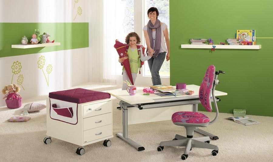 Biurka dla uczniów Paidi