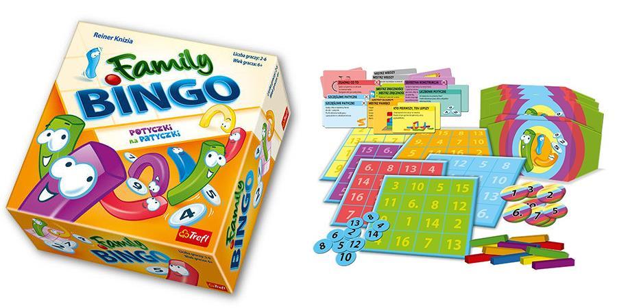 Gra Family Bingo od Trefl