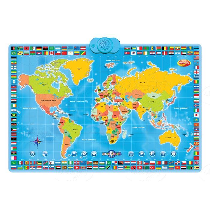 Interaktywna Mapa Świata od Dumel Discovery