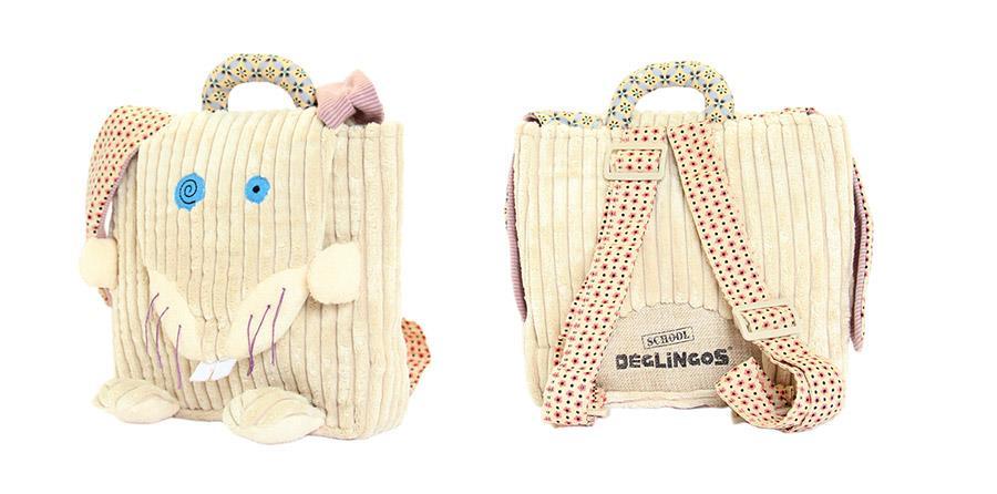 Plecak przedszkolaka Królik Lapinos - Les Deglingos