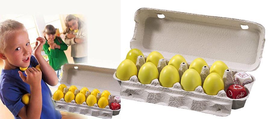 Gra Tańczące jajeczka - Haba